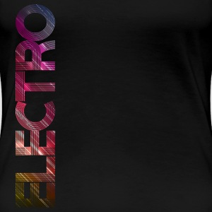 electro vertical Tee shirts - T-shirt Premium Femme