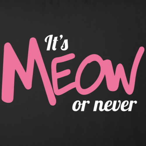 It's meow or never (dark)