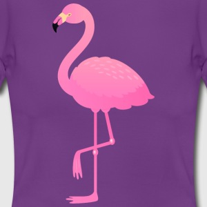 Cute Pink Flamingo Illustration Tee shirts - T-shirt Femme