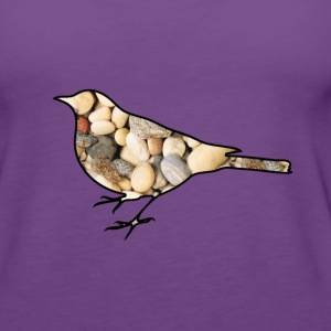 Stone Bird Tops - Frauen Premium Tank Top