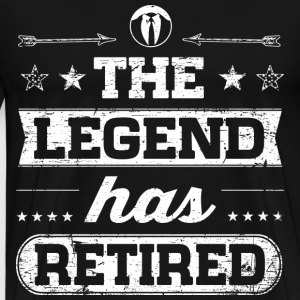 The Legend Has Retired T-Shirts - Männer Premium T-Shirt