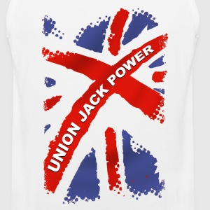Union Jack Power Vêtements de sport - Débardeur Premium Homme