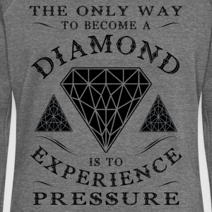 The only way to become a diamond is to experience  Pullover & Hoodies - Frauen Pullover mit U-Boot-Ausschnitt von Bella
