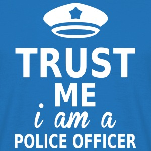 trust me i am a police officer T-Shirts - Men's T-Shirt