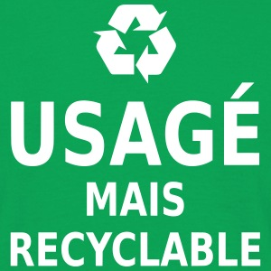 usagé mais recyclable T-Shirts - Männer T-Shirt
