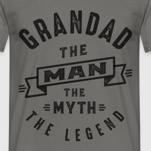 Grandad The Myth - Men's T-Shirt