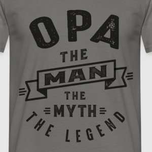 Opa The Myth - Men's T-Shirt