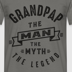 Grandpap The Myth - Men's T-Shirt