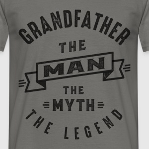 Grandfather The Myth - Men's T-Shirt