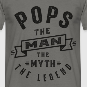 Pops The Myth - Men's T-Shirt