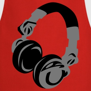 DJ Headphones  Aprons - Cooking Apron