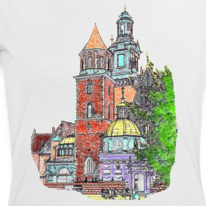 Castle shirt - Women's Ringer T-Shirt