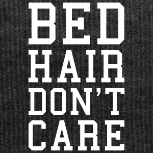 Bed Hair Funny Quote  Caps & Hats - Winter Hat