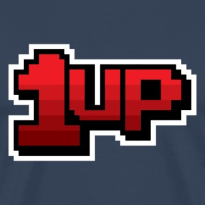 1up red T-Shirts - Men's Premium T-Shirt