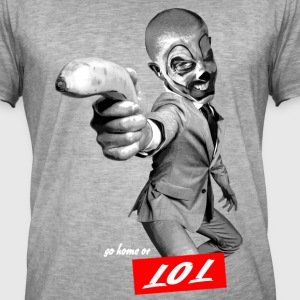 lol, joke tattoo 123 T-Shirts - Männer Vintage T-Shirt