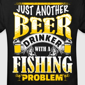 Beer Drinker - Fishing Problem - EN T-shirts - Ekologisk T-shirt barn