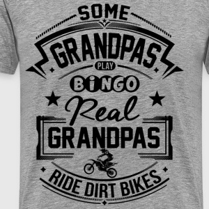 Grandpas Ride Dirt Bike T-Shirts - Männer Premium T-Shirt