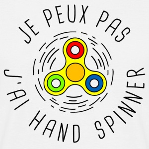 Je peux pas spinner - T-shirt Homme