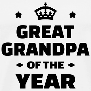 Grandfather Grandpa Family Papi Papy Großvater T-Shirts - Men's Premium T-Shirt