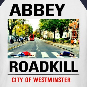 Abbey Roadkill light T-Shirts - Men's Baseball T-Shirt