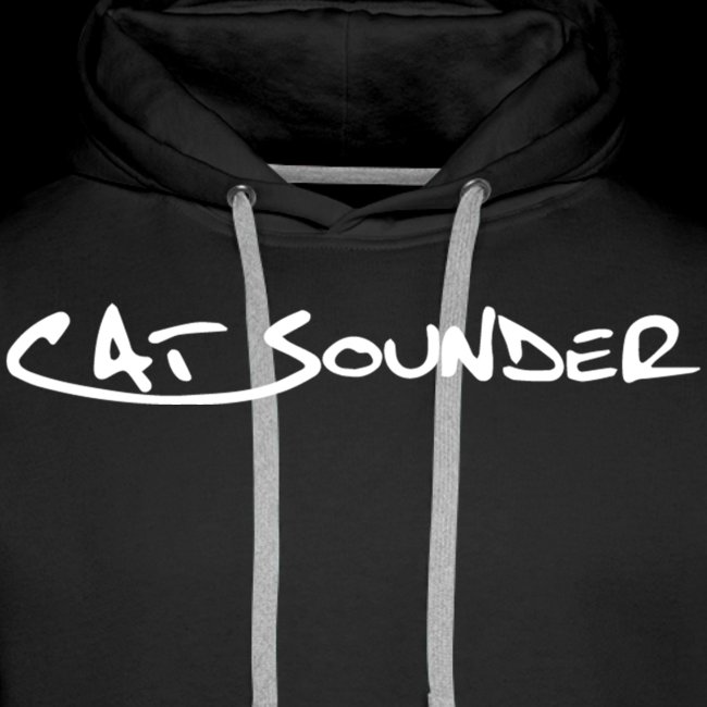 Hoodie Catsounder - schwarz/weiß