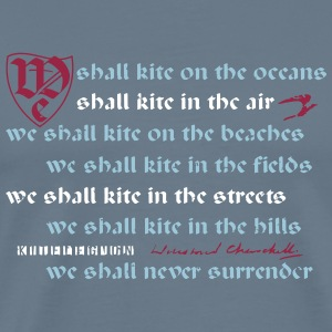 we shall kite x_vec_3 en T-Shirts - Men's Premium T-Shirt