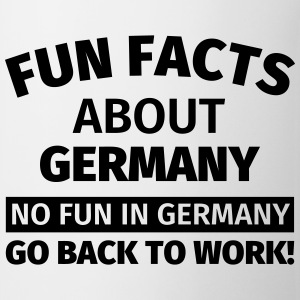 Fun Facts about Germany Tassen & Zubehör - Tasse