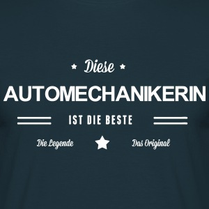 Beste Automechanikerin - Männer T-Shirt