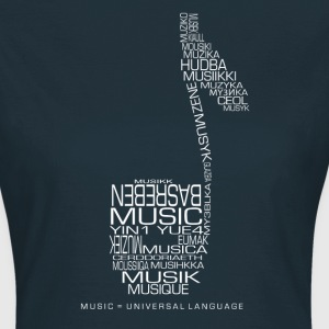 Music = Universal Language - T-shirt Femme