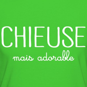 Chieuse Mais Adorable Tee shirts - T-shirt Bio Femme