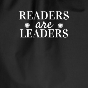 Readers are Leaders Vesker & ryggsekker - Gymbag