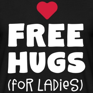free hugs for ladies - Männer T-Shirt