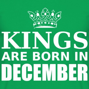 kings are born in december T-Shirts - Men's T-Shirt