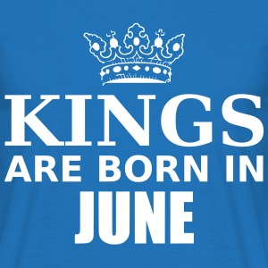 kings are born in june T-Shirts - Men's T-Shirt