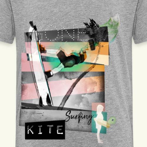 Gone Kitesurfing B&W