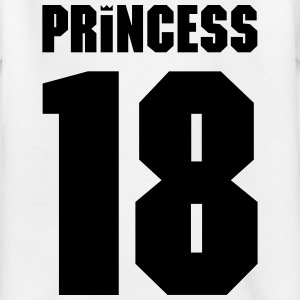 Princess Crown 18 Shirts - Kinderen T-shirt