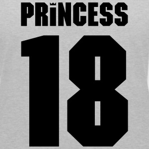 Princess Crown 18 T-shirts - Vrouwen T-shirt met V-hals