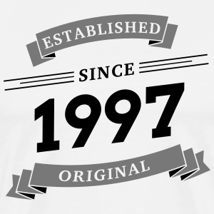 Established since 1997 - Männer Premium T-Shirt