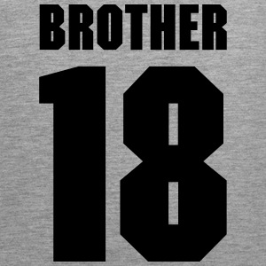 Brother 18 Sportkleding - Mannen Premium tank top