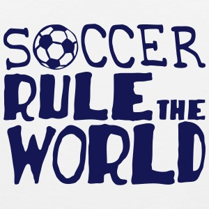 soccer rule the world citation Vêtements de sport - Débardeur Premium Homme