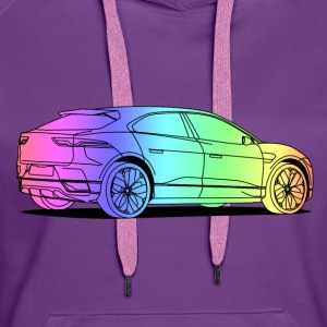 jag colourful Sweaters - Vrouwen Premium hoodie