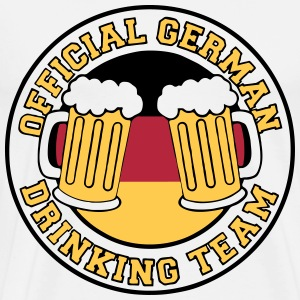 German Bier Drinking Team Fun T-Shirts für Männe - Männer Premium T-Shirt