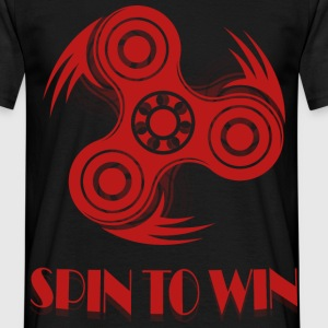 Spin to Win 3 T-Shirts - Men's T-Shirt