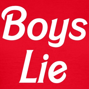 Boys lie T-Shirts - Women's T-Shirt