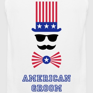 American Groom (Stag Party) Sportbekleidung - Männer Premium Tank Top