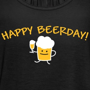 Happy Beerday (b) Tops - Women's Tank Top by Bella