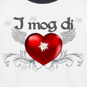 I mog di T-Shirt  - Kinder Baseball T-Shirt