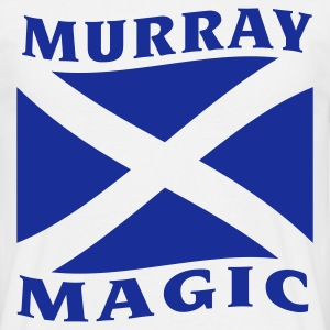 White Murray Magic T Shirt - Men's T-Shirt