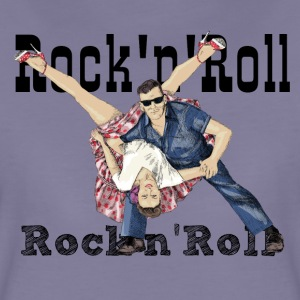 Rock and Roll T-shirts - Dame premium T-shirt