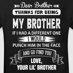 Thanks For Being My Brother, Your Lil Brother Shirts - Kids' Organic T-shirt